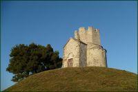 Kostel sv.Mikuláše mezi Zatonem a Ninem