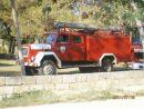 krásné hasičské autíčko,taťka si ho musel vyfotit