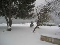 Letošní zima v Grebaštici 2012