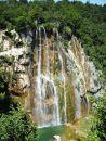 Vodopád ze skal okolí Plitvických jezer