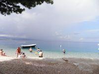 Bouře nad ostrovem Brač