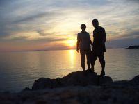 Západ slunce u Primoštenu