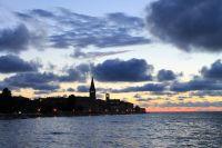 Croatia Poreč   výhled na staré město-poloostrov