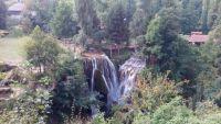vodopádu ve Slunj
