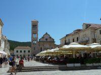Hvar,náměstí Sv. Štěpána ze 16.-17.století