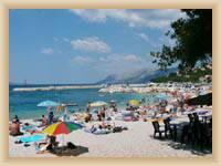 Baška Voda - pláž