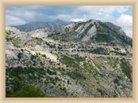 Pohoří Biokovo - přírodní park