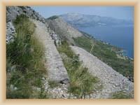 Cesta z Lokva Rogoznička na Sveti Vid