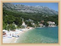 Brela - pláž Stomarica