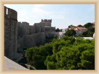 Dubrovník - Pevnost Minčeta