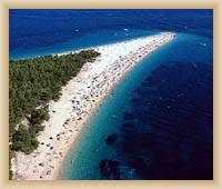 Bol - Pláž Zlatni Rat