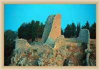 NP Krka - ruiny věže