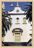 Milna - průčelí farního kostela