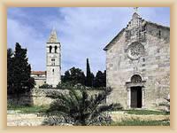 Ostrov Vis - Františkánský klášter na Pirovu