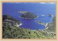 Ostrov Mljet - Prožura