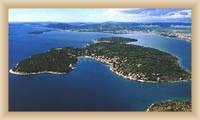 Ostrov Prvič - celkový pohled