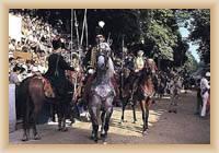 Sinj - rytířský turnaj Sinjska Alka