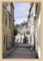 Skradin - městská ulička