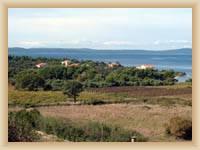 Zaton - pohled na zátoku Plisa a Zadarský kanál