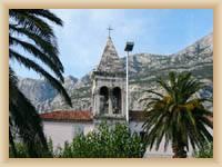 Makarská  - kostel