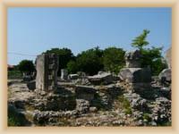 Město Nin - Ostatky římského chrámu