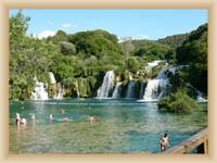 Národní park Krka - Koupaliště