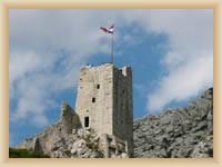 Omiš - Zřícenina hradu