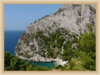 Ostrov Hvar - Skrytá pláž