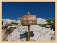 Hora Sveti Jure - vrchol
