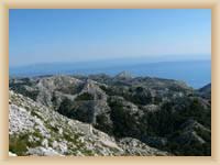 Pohled z hory sv. Jure
