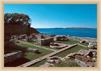 NP Brijunské ostrovy - zbytky pevnosti
