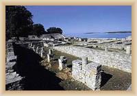 NP Brijunské ostrovy - zbytky římské vily