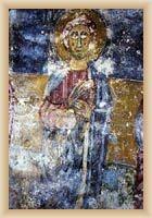 Kanfanar - freska v kostele sv. Agáthy