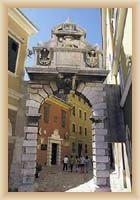 Rovinj - městská brána