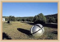 Vrsar - sochy v parku