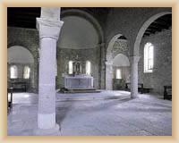 Krk - interiér kostela sv. Quirinuse